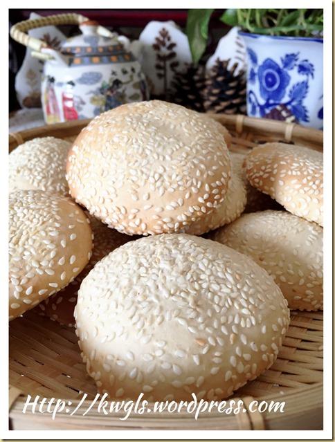 Chawan Muah Piah or Sesame Cake (诏安麻饼)