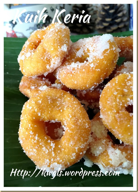 Sweet Potatoes Donuts aka Kuih Keria (甜薯圈)