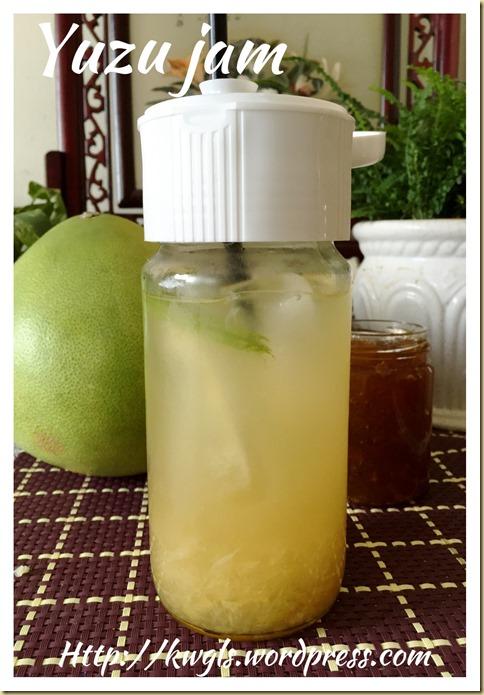 Pomelo Honey Jam (柚子蜂蜜酱)