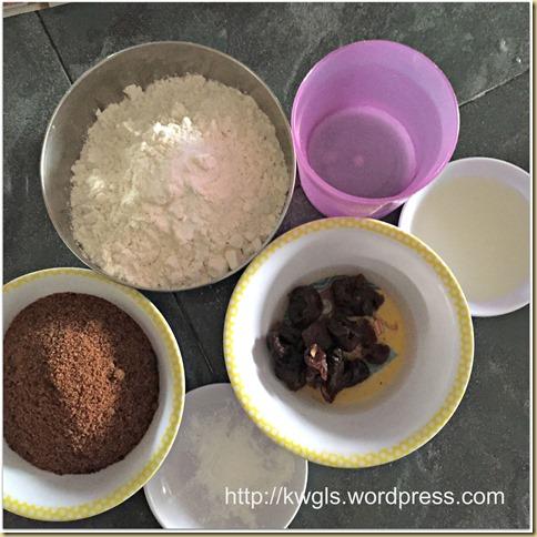 Dried Longan Black Sugar Huat Kuih (桂圆黑糖发糕)
