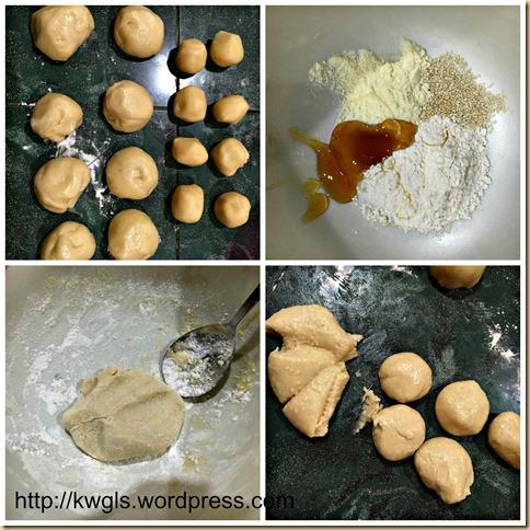Sesame Sweet Chinese Pancake (芝麻糖烧饼)