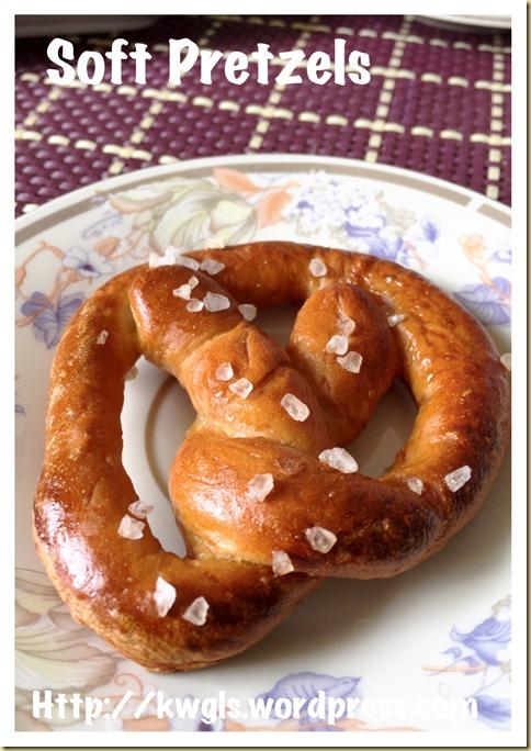 German Soft Pretzels (德国扭结软面包)
