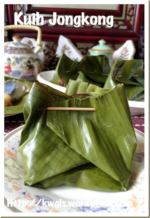 Kuih Bongkong or Kuih Jongkong (马来娘惹元宝/荷包糕)