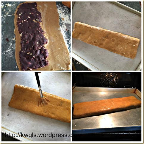 Red Bean Paste Rolled Cake (豆沙排饼)